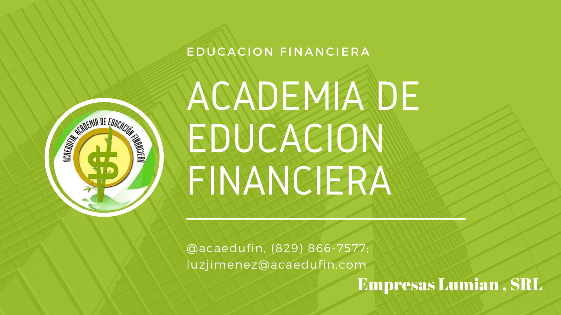 Academia de Educación Financiera